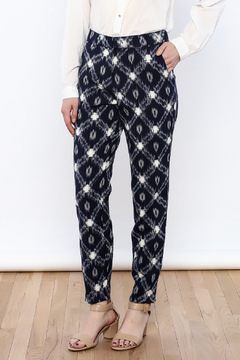 The Odells Ikat Ankle Zip Pants - Product List Image