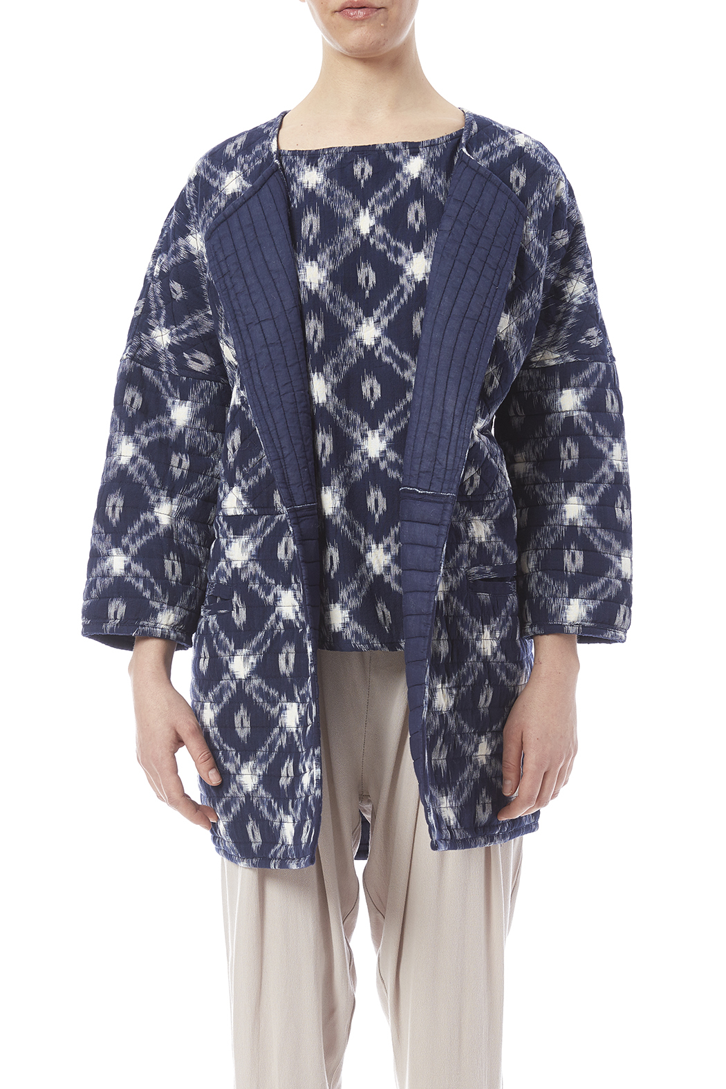 The ODells Quilted Ikat Jacket from Rhode Island by DISH — Shoptiques