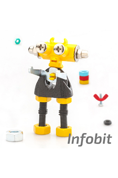 Fat Brain Toys  The Off Bits: The Art Of Spare Parts Character Kit - Product List Image