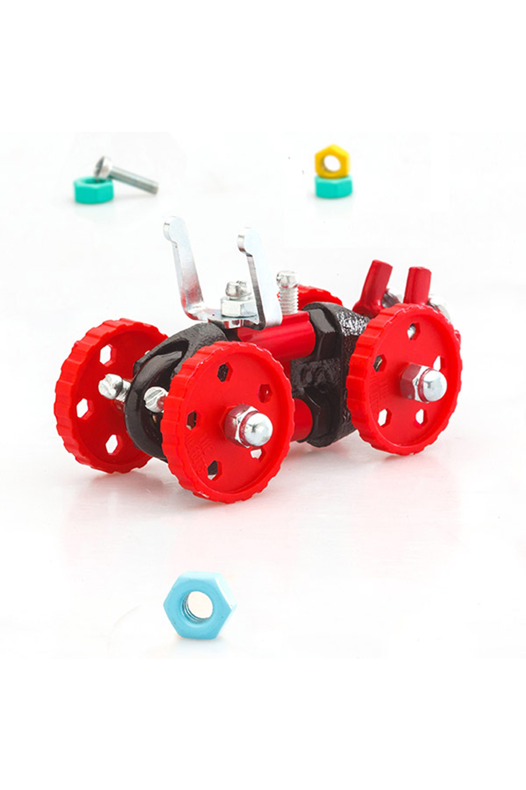 Fat Brain Toys The Off Bits: The Art Of Spare Parts Vehicle Kit - Main Image