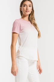 Z Supply  The Ombré Dip Dye Crew Tee - Product Mini Image