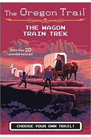 Houghton Mifflin Harcourt  The Oregon Trail: Choose Your Own Trail! - Front cropped
