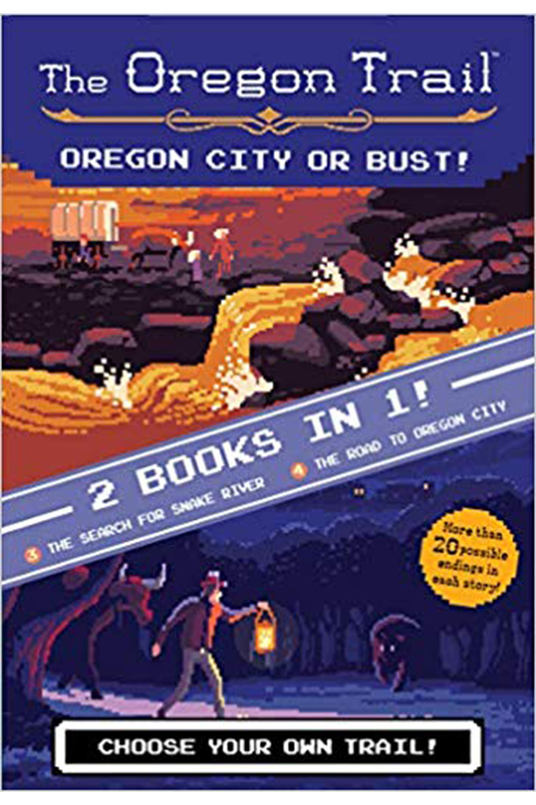Houghton Mifflin Harcourt  The Oregon Trail Oregon City Or Bust! - Main Image