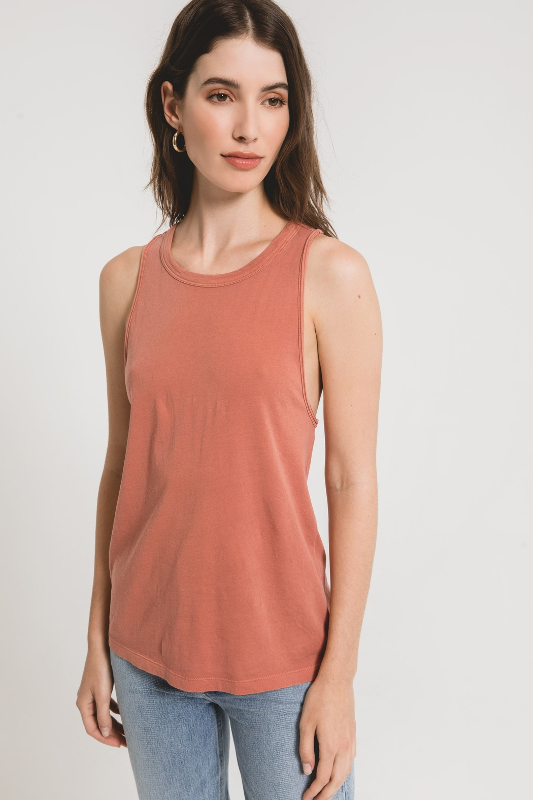 z supply The Organic Cotton Muscle Tank - Main Image