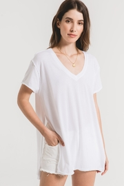z supply The Organic Cotton Side Slit Tunic - Front cropped