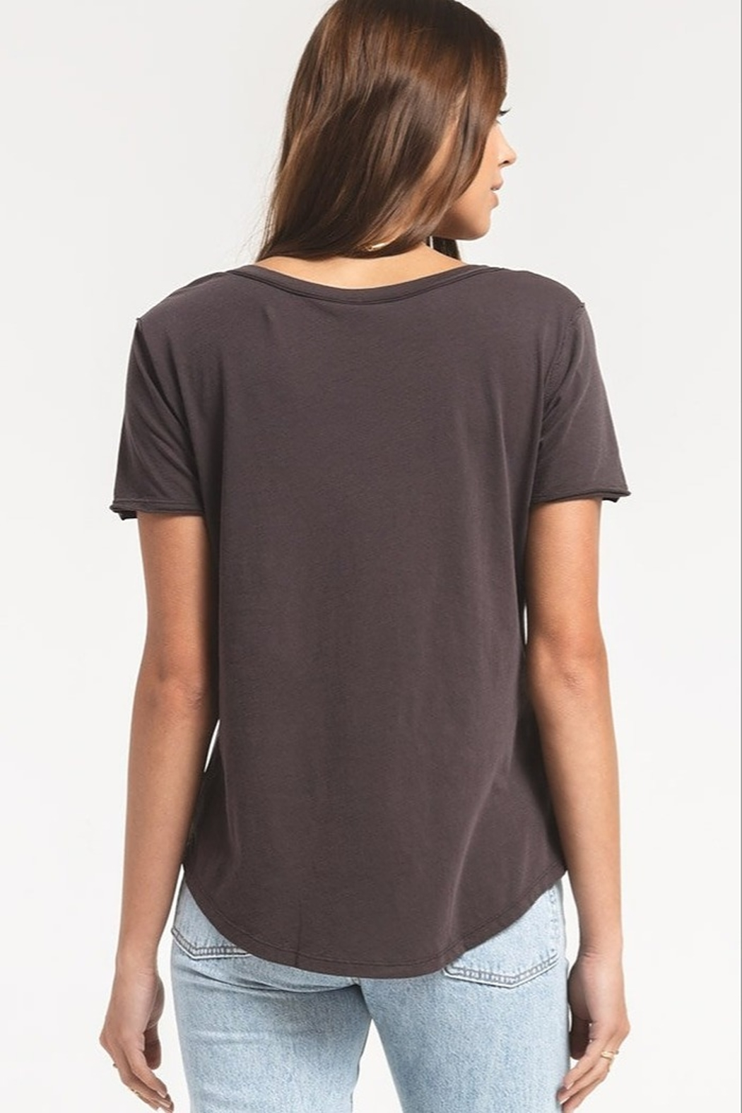 Z Supply  The Organic Cotton V-Neck Tee - Side Cropped Image