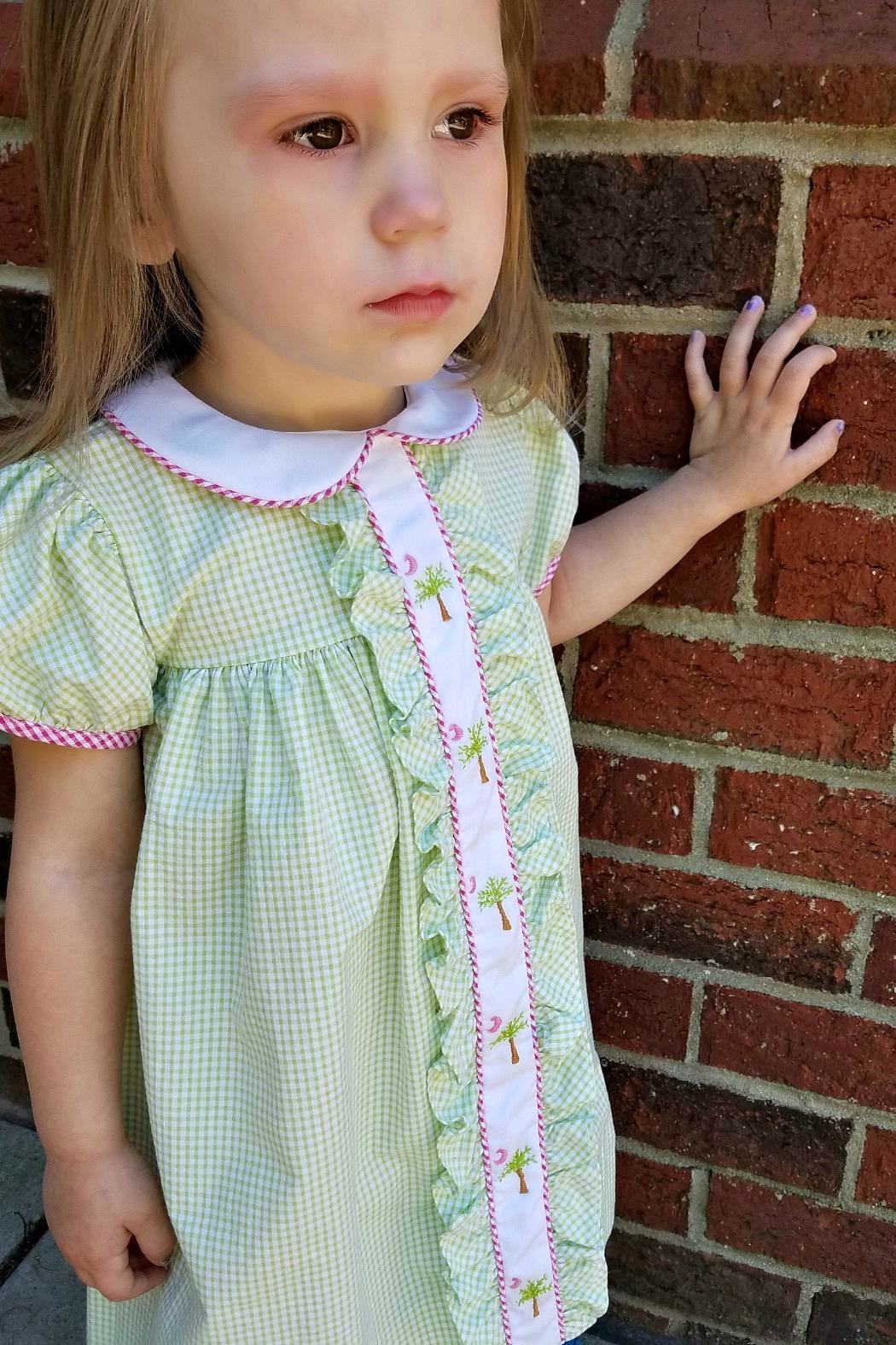 Lulu B The-Palmetto-State Gingham Dress - Front Full Image