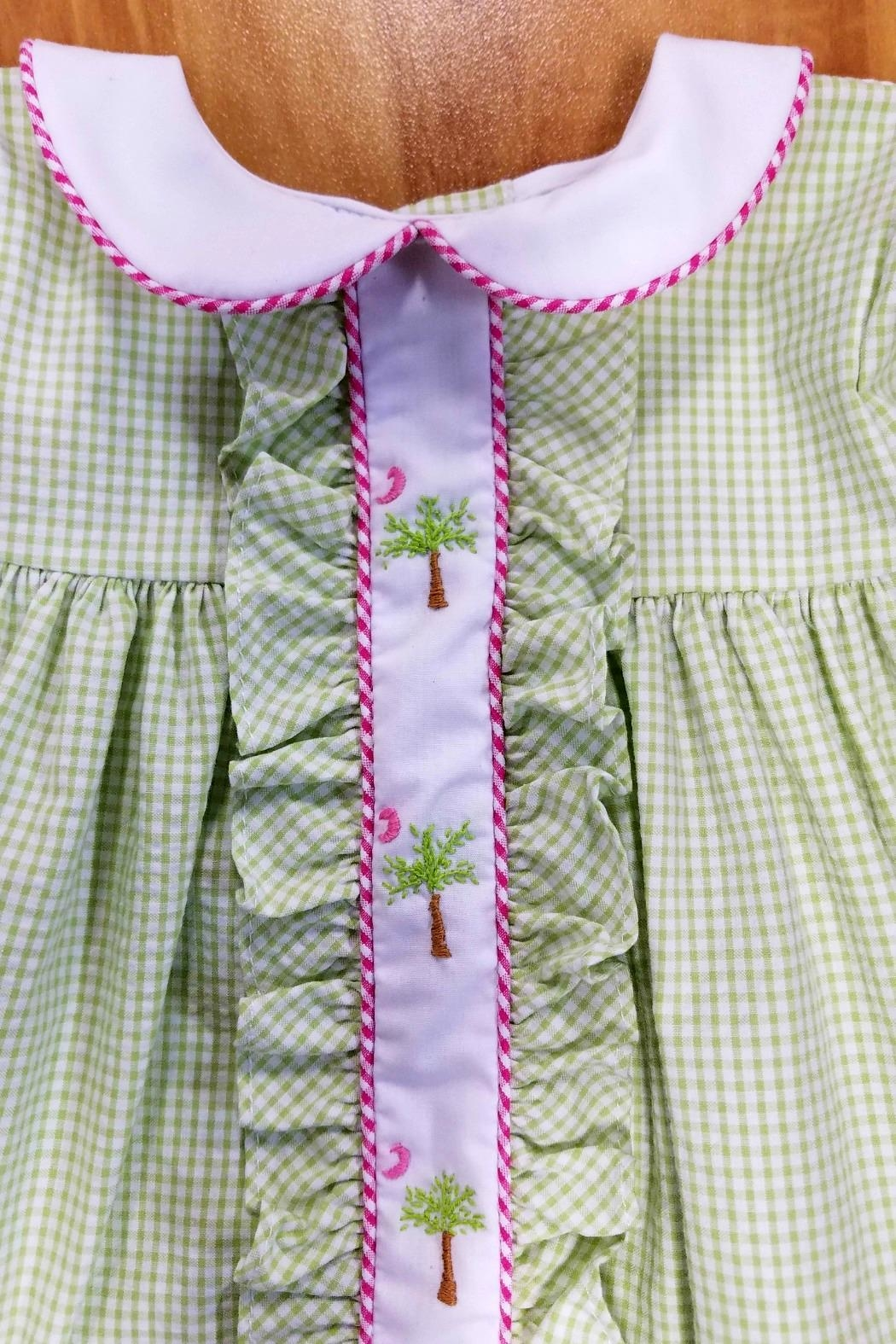Lulu B The-Palmetto-State Gingham Dress - Side Cropped Image