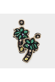 Madison Avenue Accessories The Palms Earring - Product Mini Image