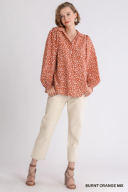 umgee  The Perfect Fall Top - Front cropped