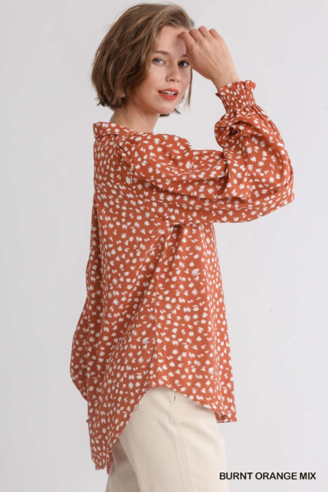 umgee  The Perfect Fall Top - Front Full Image