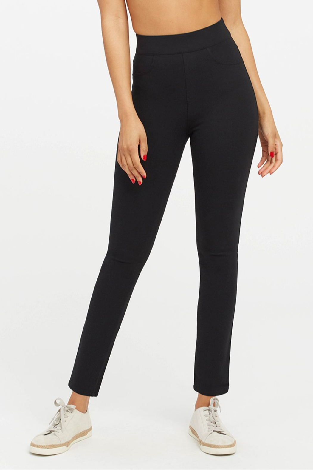 Spanx The Perfect Pant - Ankle 4 Pocket - Back Cropped Image