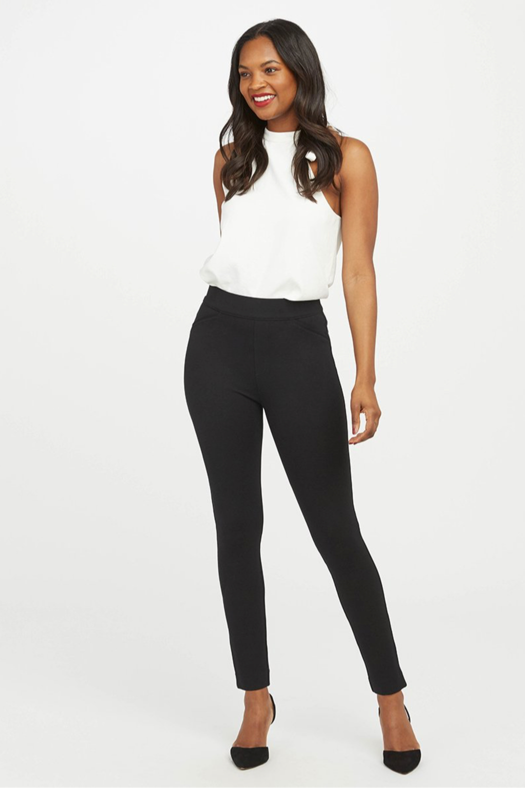Spanx The Perfect Pant - Ankle Backseam Skinny - Main Image