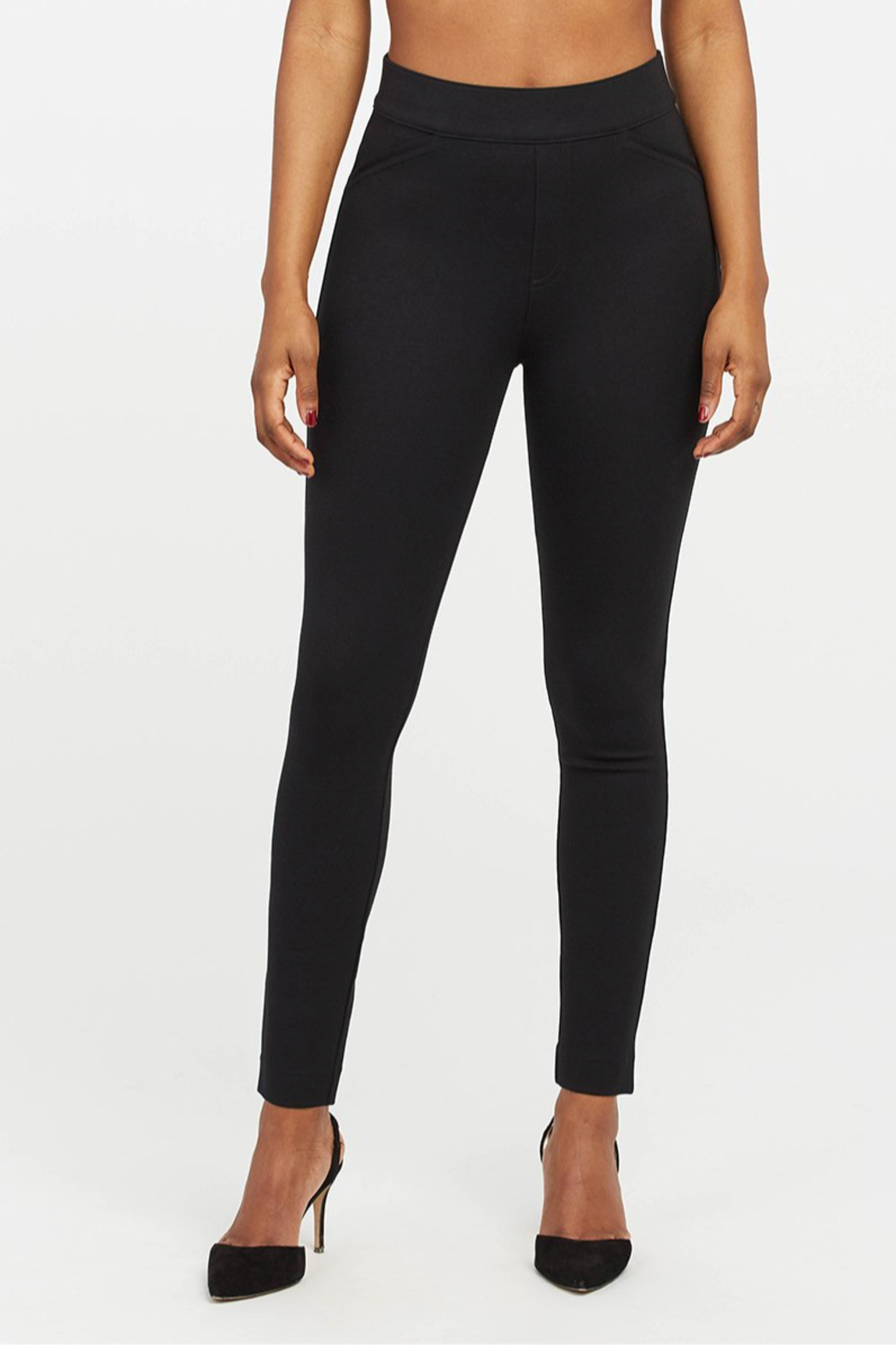 Spanx The Perfect Pant - Ankle Backseam Skinny - Back Cropped Image