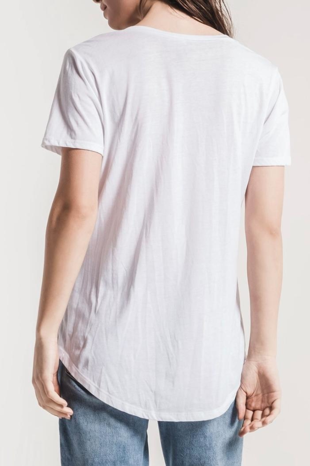 z supply The Pocket Tee - Front Full Image