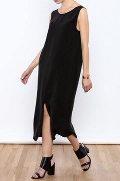 Shoptiques Product: Black Silk Dress