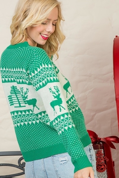 Style Trolley The Prancer Sweater - Alternate List Image