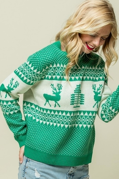 Style Trolley The Prancer Sweater - Product List Image