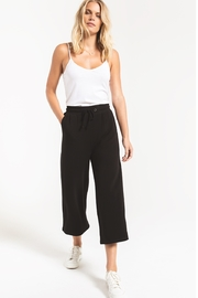 z supply The Premium Fleece Crop Pant - Front cropped