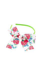 The Preppy Pickle Flower Headband - Product Mini Image