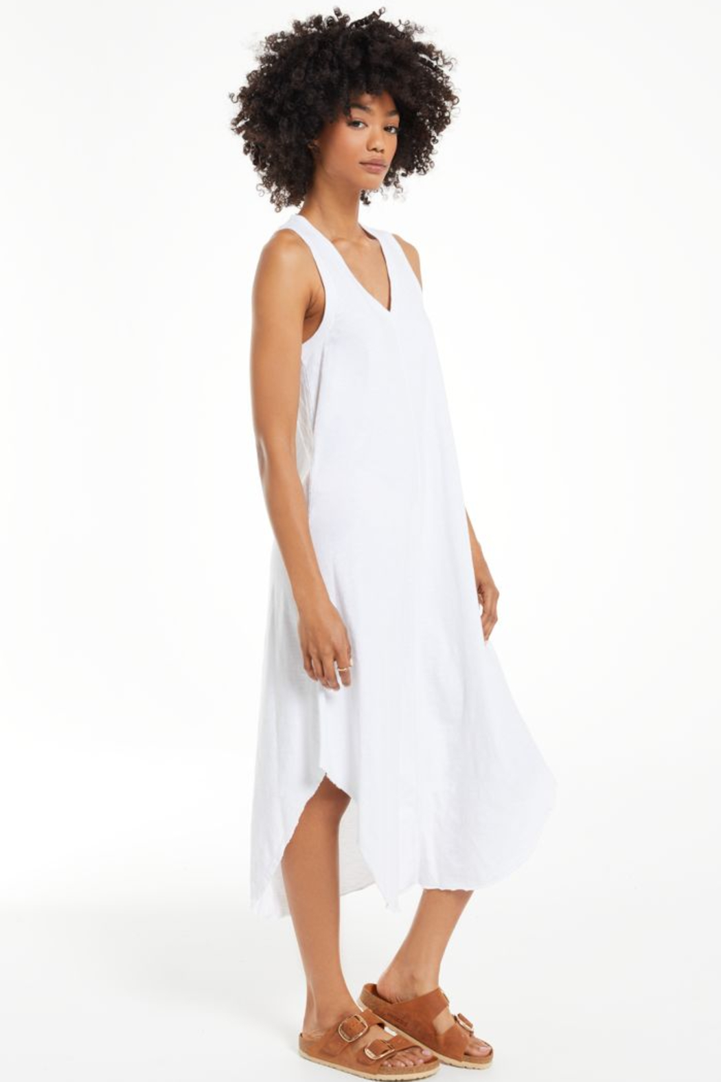 z supply The Reverie Dress - Back Cropped Image