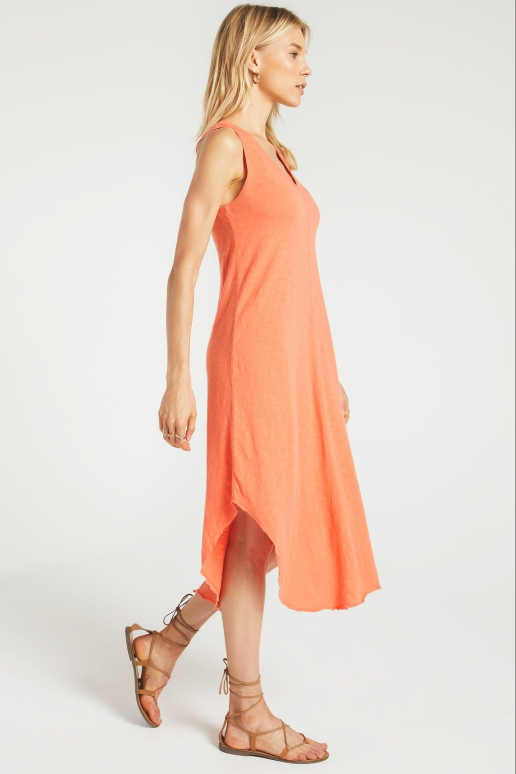 Zsupply The Reverie Dress Tropic - Side Cropped Image