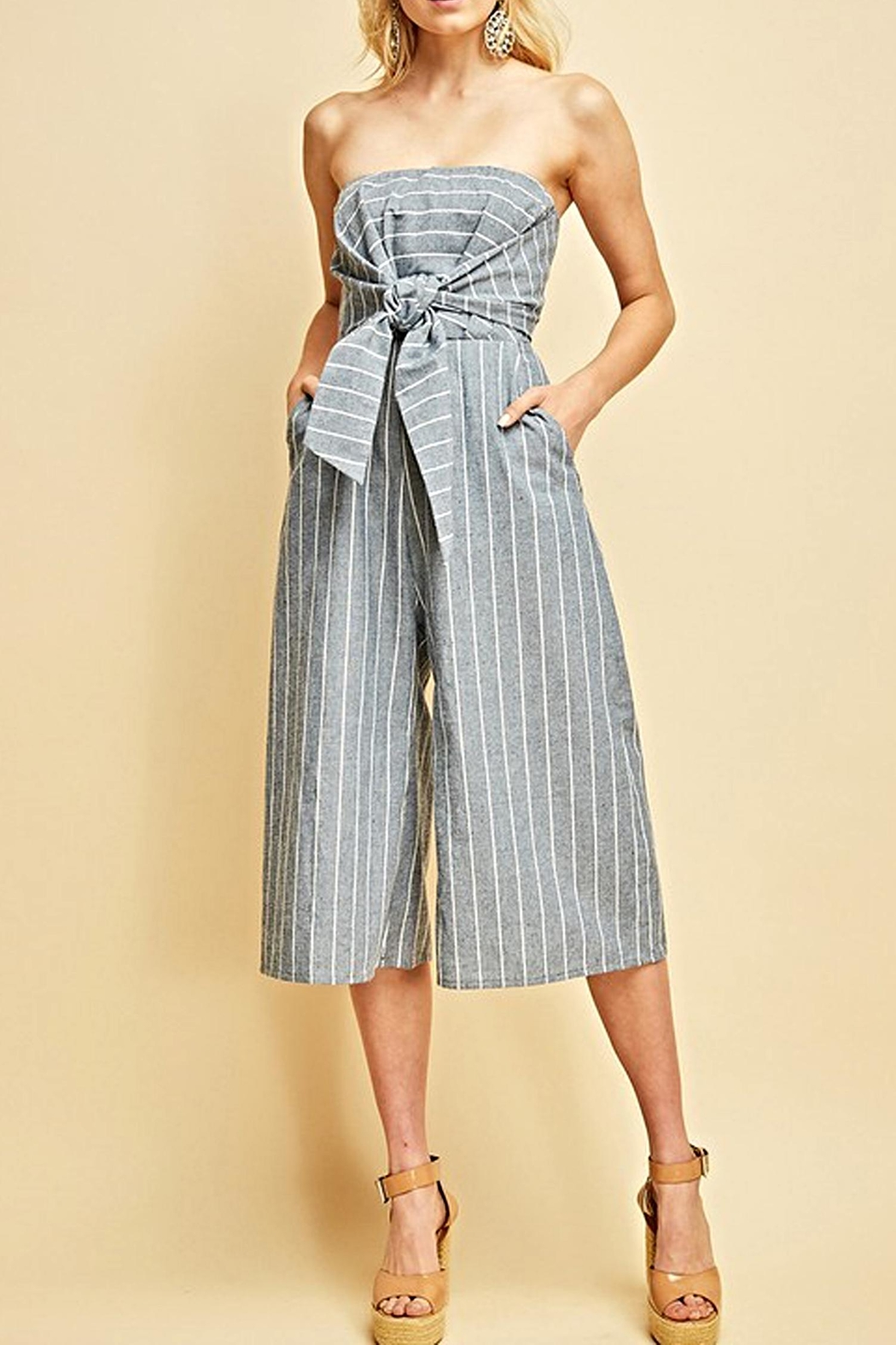 Entro The Rikki Jumpsuit - Front Cropped Image