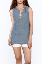 The Royal Standard Chambray Tank - Product Mini Image