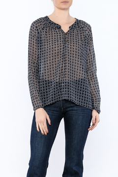 The Royal Standard Navy Channing Blouse - Product List Image