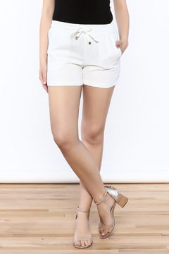 The Royal Standard White Island Shorts - Product List Image
