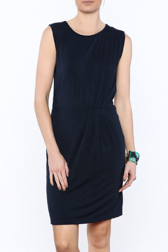 The Royal Standard Navy Pleated Dress - Product List Image