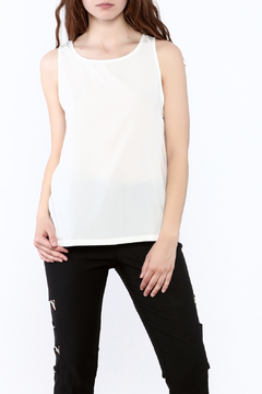 The Royal Standard Sheila Ivory Tank Top - Product List Image