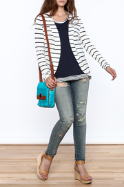 The Royal Standard Striped Jacket - Front full body