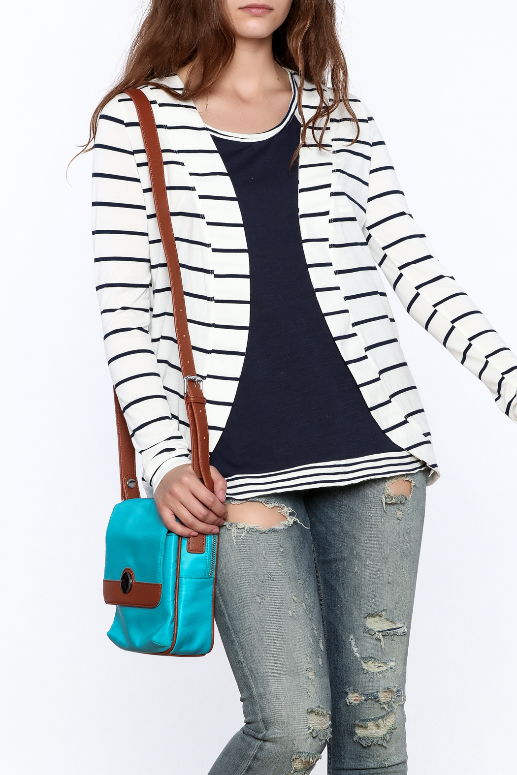 The Royal Standard Striped Jacket - Main Image
