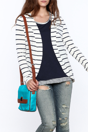 The Royal Standard Striped Jacket - Front cropped