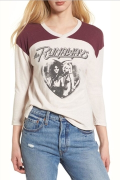 Junk Food Clothing The Runaways Tee - Product List Image