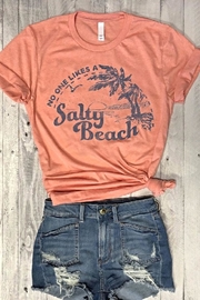 Style Trolley The Salty-Beach Tee - Product Mini Image