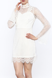 The Sang Lace Collar Dress - Product Mini Image
