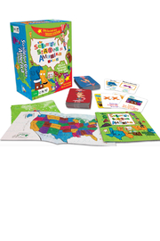 Gamewright The Scrambled States of America Game - Product Mini Image