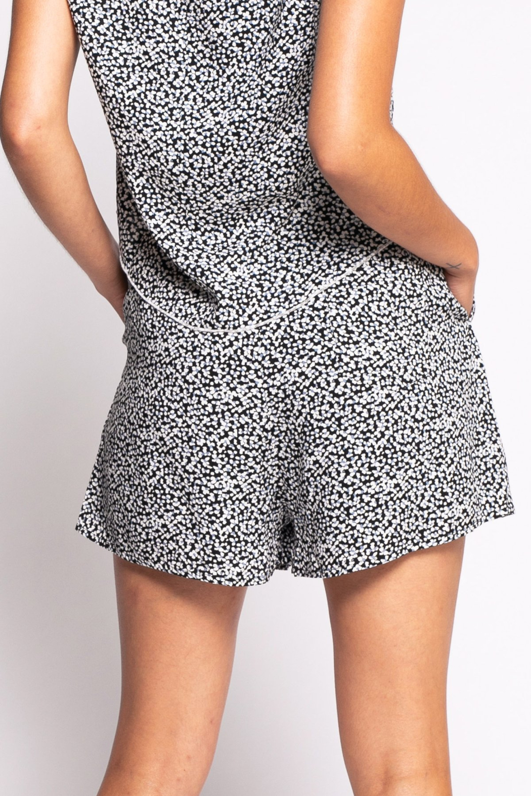 Pink Martini The Serenity Shorts - Front Full Image