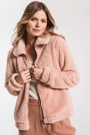 z supply The Sherpa Crop Jacket - Product Mini Image