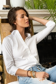 The Shirt Rochelle Behrens  THE SHIRT ROCHELLE BEHRENS 3/4 SLEEVE ESSENTIALS ICON SHIRT - Product Mini Image