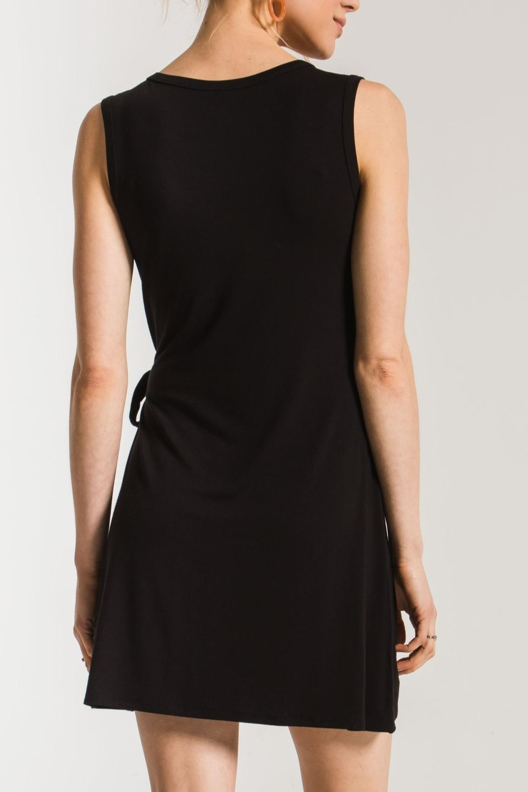 z supply The Side Tie Dress - Front Full Image
