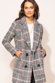 Pink Martini The Siena Coat - Front cropped
