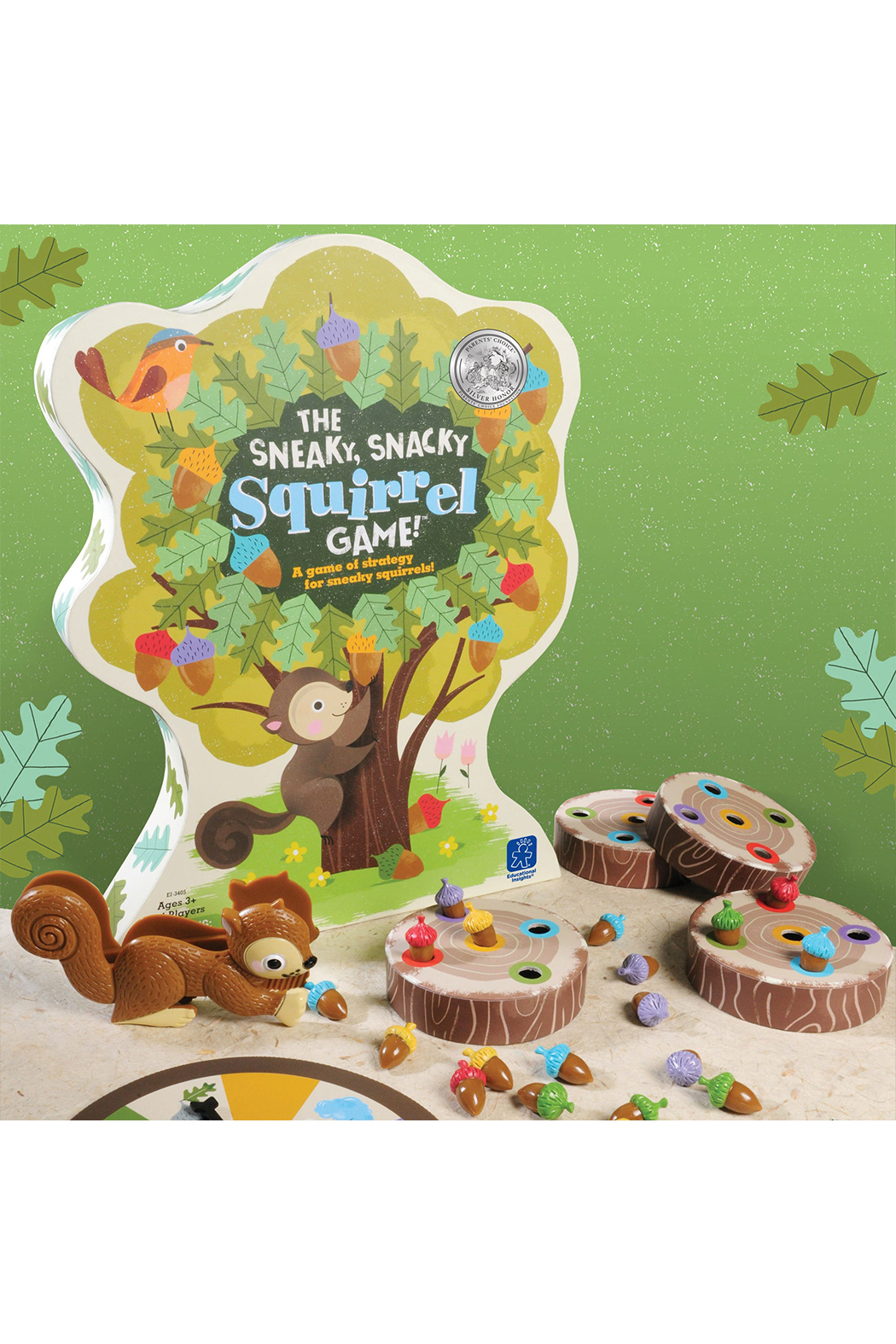 Educational Insights The Sneaky, Snacky Squirrel Game - Main Image