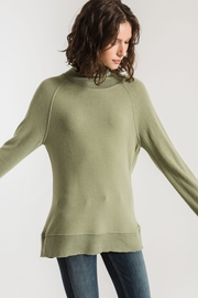 Zsupply The Soft-Spun Mock Neck Top - Side cropped