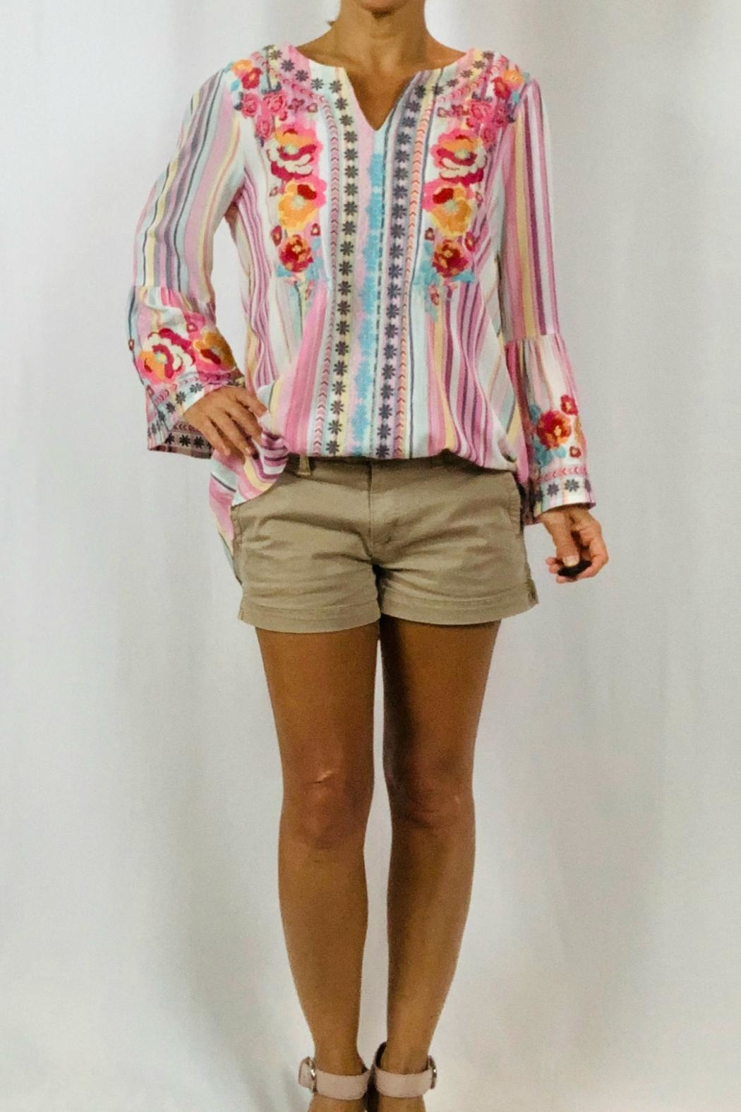 Andree by Unit The Sonya Blouse - Front Full Image