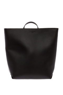 Shoptiques Product: Black Leather Backpack