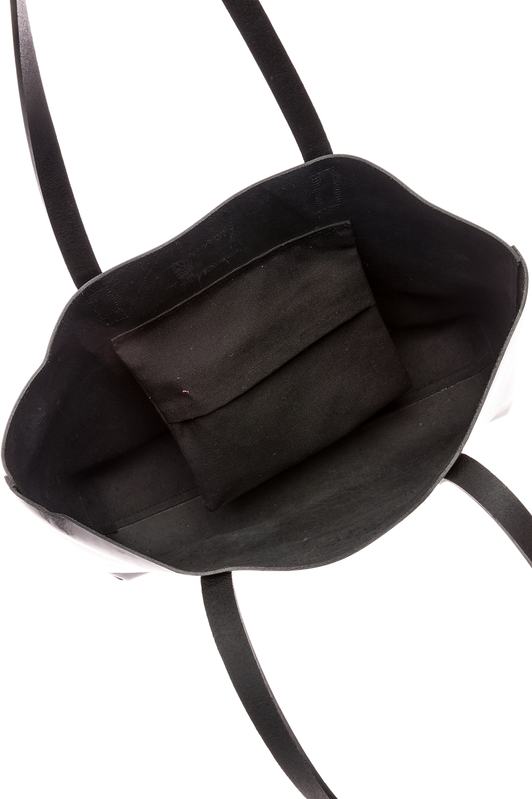 The Stowe Black Mini Tote - Front Full Image