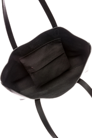 The Stowe Black Mini Tote - Front full body
